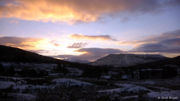 Sunrise, near Tyndrum Village