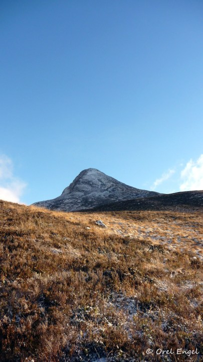 West face of the Pap of Glencoe
